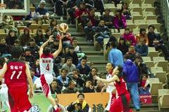 Szkoła Średnia mecz koszykówki, HBL Obraz Stock