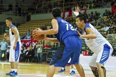 Szkoła Średnia mecz koszykówki, HBL Zdjęcia Stock