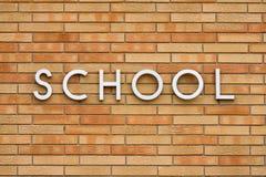 Szkoła Zdjęcie Stock