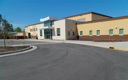 Szkoła państwowa budynek Obrazy Stock