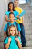 Szkoła podstawowa ucznie Zdjęcia Royalty Free