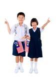 Szkoła podstawowa ucznie Fotografia Stock