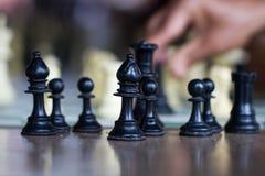 Szkoła szachy zdjęcia royalty free