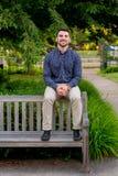 Szkoła wyższa absolwent na kampusie w Oregon Obrazy Royalty Free