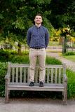 Szkoła wyższa absolwent na kampusie w Oregon Zdjęcia Royalty Free