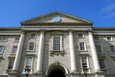 szkoła wyższa Dublin wejściowy główny trinity Fotografia Royalty Free
