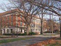 Szkoła wyższa kampus Zdjęcia Royalty Free