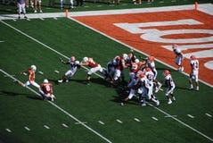 szkoła wyższa mecz futbolowy longhorny Texas Fotografia Stock