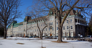 Szkoła wyższa sacre-CÅ Du Notre-Dame 'ur Zdjęcia Stock