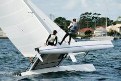 Szkoły Średniej żeglowania mistrzostwa 3 zdjęcie stock