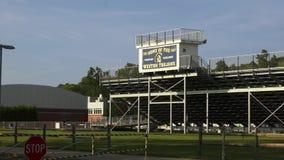 Szkoły średniej sportowy stadium (2 3) zbiory