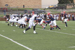 Szkoły wyższa NCAA DIV III futbol Obraz Royalty Free