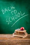 Szkoła przygotowywa ucznie przychodzi z powrotem Obraz Stock