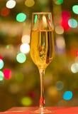 Szkło szampan Fotografia Stock