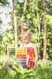 Szkoła w lesie Fotografia Royalty Free