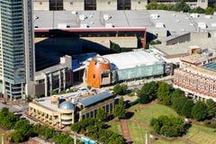 Szkoła wyższa futbolu hall of fame Zdjęcie Royalty Free