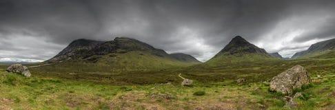 Szkoccy średniogórza Szkocja, Zjednoczone Królestwo fotografia stock