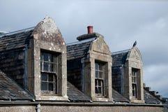 szkoccy okno Zdjęcia Royalty Free