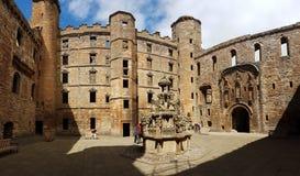 Szkocja Linlithgow pałac obraz royalty free