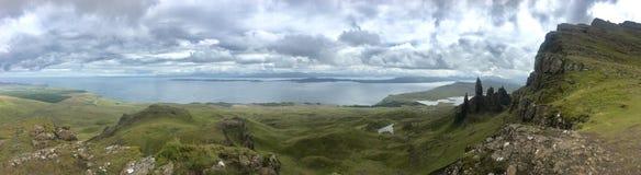 Szkocja panoramiczna fotografia fotografia stock