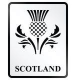 Szkocja znak Obraz Royalty Free