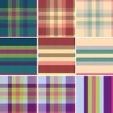 szkocka bezszwowa tartanu tweedu różnica Fotografia Stock