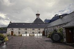 Szkocka destylarnia zdjęcia royalty free