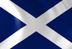 Szkocka flaga Zdjęcie Royalty Free