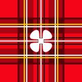 Szkocka klatka Zdjęcia Royalty Free