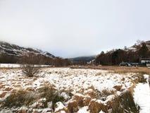 Szkocka Krajobrazowa scena przy Glenfinnan wiaduktem obraz royalty free