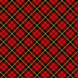 szkocka krata Zdjęcia Royalty Free