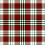 Szkocka krata bezszwowy Wzór Obrazy Royalty Free