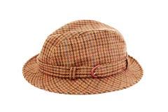 Szkocka krata kapelusz Zdjęcie Royalty Free