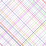 szkocka krata stubarwni pastelowi lampasy Zdjęcie Royalty Free