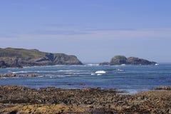 szkocka linia brzegowa Fotografia Royalty Free