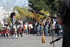 Szkocka parada Zdjęcie Royalty Free
