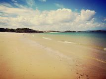 Szkocka plaża Obrazy Royalty Free