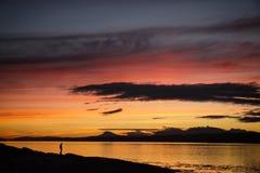 szkocka słońca Zdjęcie Royalty Free