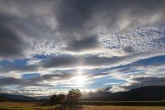 szkocka słońca Zdjęcie Stock