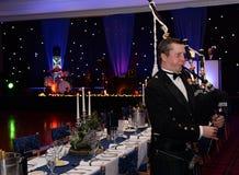 Szkocki Bagpiper Zdjęcia Royalty Free