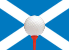 Szkocki golf Zdjęcie Royalty Free