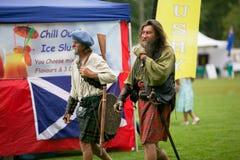 Szkocki klan. Zdjęcie Royalty Free