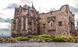 Szkocki Krajowy Wojenny pomnik, Edynburg kasztel Obraz Stock