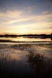 Szkocki loch Fotografia Royalty Free
