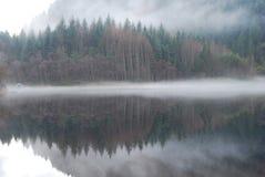 Szkocki Loch Trossachs Fotografia Royalty Free