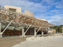 Szkocki parlament, Edynburg Obraz Royalty Free