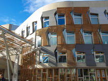 Szkocki parlament, Edynburg Fotografia Royalty Free