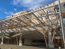 Szkocki parlament, Edynburg Zdjęcie Stock