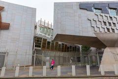 Szkocki parlament w Edynburg, UK Obraz Stock