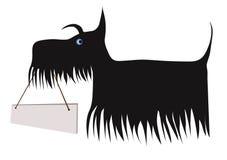 Psi mienie deska royalty ilustracja